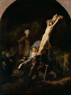 Rembrandt van Rijn - The cross raising