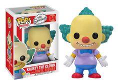 Figurine pop Krusty le clown (Krusty the clown) - Les Simpson - Funko Pop! Pop Vinyl Figures, Pop Action Figures, Funk Pop, Disney Pop, Toy Art, Futurama, Krusty Der Clown, Homer Simpson, Los Simsons