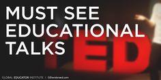 5 Must-See TED Talks for Teachers:  TED Talks