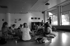Juuret-työpaja Asukastalo Kääntöpaikassa elokuu 2015