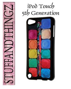 iPod Touch 5th Generation Artist Watercolor Paint Set Cover Case on Etsy, $11.99