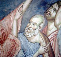 Byzantine Icons, Ikon, Fresco, Vignettes, Saints, Angels, Greek, Album, Painting
