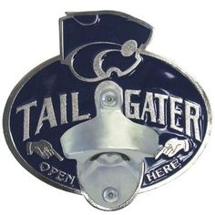 Kansas St. Wildcats Tailgater Hitch Cover Class III