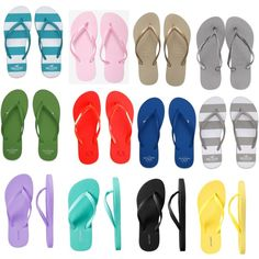 flip flops! i live in flip flops in the spring and summer. with a couple of warm days in the winter and fall:)