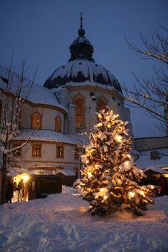 Kloster Ettal zur Weihnachtszeit