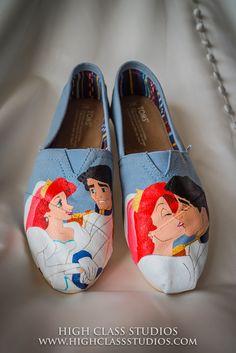#coustomshoes #weddingday #storybookwedding  www.highclassstudios.com info@highclassstudios.com
