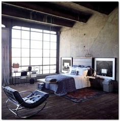 90+ Industrial Chic Bedroom Designs You Will Be Love Part 58