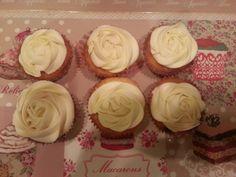 Cupcake vaniglia e cioccolato bianco