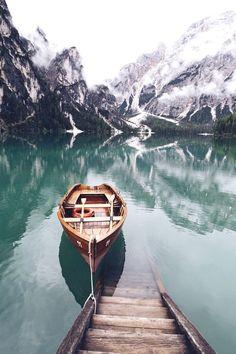 Lago di Braies by Lyes Kachaou - Photo 162167461 - 500px