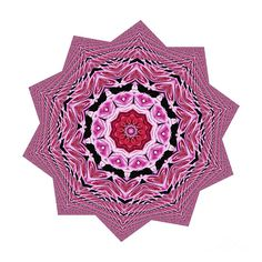 Loving #Rose #Mandala by #Kaye_Menner #Photography Quality Prints Cards Products at: http://kaye-menner.pixels.com/featured/loving-rose-mandala-by-kaye-menner-kaye-menner.html