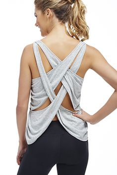 Taylor Tank - It's all in the details. www.fabletics.com