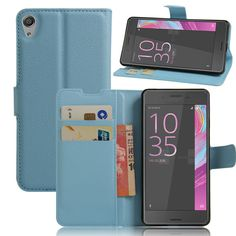 Teléfono de lujo del caso para sony xperia e5 capas e 5 f3311 f3313 5.0 pulgadas flip cubierta de la carpeta de la pu de cuero bolsa de la piel con el soporte para sony e5