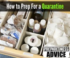 Even a widespread flu outbreak is reason enough to prepare and plan for a quarantine. #PreparednessAdvice