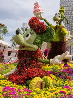 Disney knows topiaries!