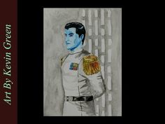 Star Wars Thrawn Watercolor (speed painting)