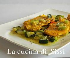 PETTO DI POLLO ALLO ZAFFERANO CON ZUCCHINE E MANDORLE http://blog.giallozafferano.it/cucinasissi/petto-di-pollo-zafferano-zucchine-mandorle/