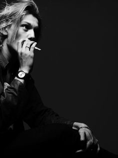 Jamie Campbell Bower by Hedi Slimane Portrait Diary. Young Hollywood 1. New actors Photography