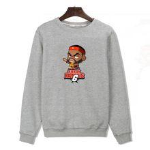 Moda LeBron James suéter con capucha hombres / mujeres deporte Jordan sudaderas con capucha y baloncesto sudaderas hombre sudaderas hip hop rock