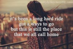 Home- Dierks Bentley. This song was playing as we left the service to the gravesite for my grandfathers funeral. The chorus got me and somehow it seemed fitting