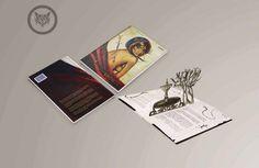 """""""Cuando Cantan los Lagartos"""" Diseño basado en el libro de Miguel Santana, cuya historia se desarrolla en la Sierra Tarahumara y la frontera de Ciudad Juárez. En el cual se emplea la técnica Pop Up."""