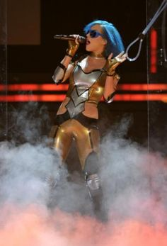 Katy Perry performing at the 54th Annual GRAMMY Awards!