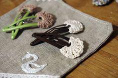 マッシュルームな・・・編みぱっちんピンの作り方|編み物|編み物・手芸・ソーイング|ハンドメイドカテゴリ|アトリエ