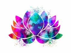 Lotus Flower Yoga Symbol Watercolor Print illustrations Art Print Wall Art…Click the link now to find the center in you with our amazing selections of items ranging from yoga apparel to meditation space decor Lotus Kunst, Art Lotus, Lotus Flower Art, Lotus Flower Drawings, Art And Illustration, Flower Illustrations, Watercolor Lotus, Watercolor Print, Art Floral