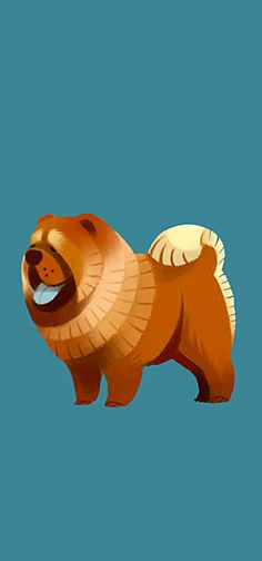 Chow Chow by ~Canvascope