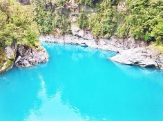Stamp #702 - New Zealand : Swim in turquoise water  To experience this beautiful water head to New Zealand at the Hokitika Gorge close to Hokitika town. Sometimes the color of the water changes depends on the weather conditions but most of the time it's as blue as this pic! You can swim here as well and jump of the bridge :) but that's it! It's just a cool place to have a quick stop   Thank you @travelalut for your #ShareYourStamp!!  For more awesome #travel and #wanderlust tips and…