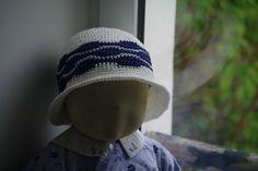 Patron de chapeau été au crochet bébé 3 mois à 2 ans : Tutoriels de fabrication par ladeuxl-s-boutique