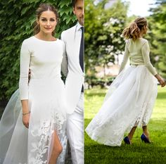 Olivia Palermo Wedding Dress http://vestidodenoviayfiesta.com/categoria-producto/vestido-de-novia/        Wedding dress / Vestido de novia corto http://vestidodenoviayfiesta.com/ #novia #bride #fotografiadeboda #bodas #maidifhonordress #somethingblue #wedding #weddingdress #vestidodenovia #vestidosdenovia #weddingphotography #vestidosdeboda #vestidosdenoviabaratos #vestidosdenoviacortos #chic #moderno  http://vestidodenoviayfiesta.com/categoria-producto/vestido-de-novia/caida/corto/
