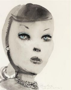 Barbie by Marlene Dumas