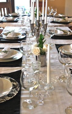 An elegant dinner with items from #Goodwill.  #Dinner #food #thrift