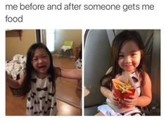 Me before and after someone gives me food #teamtakei