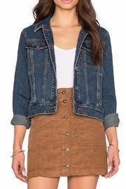 Fitted Denim Jacket $98.00