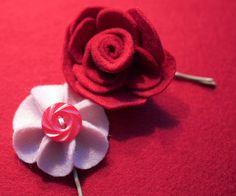 felt flowers-5 by ysolda teague, via Flickr