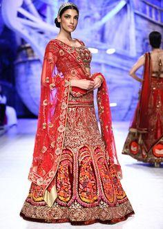 JJ Valaya collection at Bridal Fashion show 2013 at Delhi 11