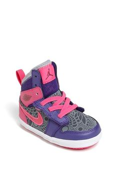 Nike 'Jordan 1 Skinny High' Sneaker (Baby, Walker & Toddler) available at #Nordstrom