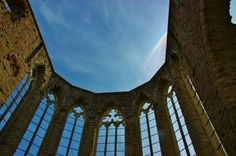 Open air church - Tienen, Flemish Brabant, Belgium. This is just at the end of our street!