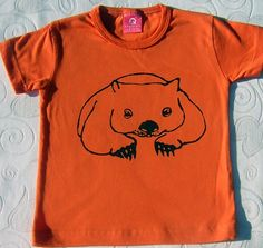 """Wombat t-shirt. I used to call my brother (6 years my junior) a """"wombat"""" when I was about 10-12 years old. I really didn't know what one was except that it was an animal - I like animals - and I liked the sound of the word. He HATED being called a wombat!"""