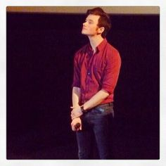 #chrisColfer with #eurozoom at the UGC Halles QA for STRUCK premiere in Paris #memories