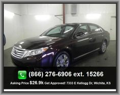 2011 Toyota Avalon Base Sedan   Interior Air Filtration, Multi-Function Remote - Trunk/Hatch/Door, Remote Power Door Locks, Daytime Running Lights, Power Windows With 4 One-Touch, Dusk Sensing Headlights,
