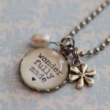 Wonderfully Made from Show & Tell Faith jewelry company.
