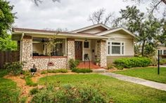 """306 W Elsmere Pl San Antonio. Remarkable & charming 2/2 Bungalow.  This home has been completely remodeled from top to bottom.  Historic charm can be seen in the sold wood front door w/leaded glass, fireplace surround & crown molding.  Chef's delight – 48"""" Jenn-air 6 burner gas oven, cooktop, surrounded w/Montblanc Silestone countertops & shaker style cabinetry.  Container store storage in closets  & pantry. Guest quarters!  Gated drive w/2 car garage, addnl storage & extra parking. $419,000"""