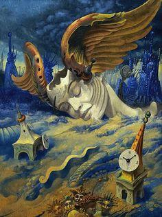 Il mondo di Mary Antony: La Visionary Art di Gil Bruvel