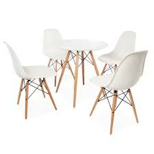 eames dsw round dining table white uk - Google Search