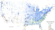 Community Post: This Map Of Race In America Is Pretty Freaking Awesome