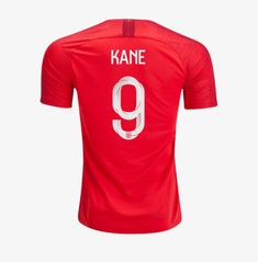 28a264f14c8 HARRY KANE  9 ENGLAND 2018-2019 Away Football Shirt -Red Best Quality.  Mexico World CupWorld ...
