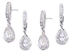 Sterling Silver Asymmetrical Chain Earrings w Faceted Labradorite Teardrops Pierced Post Earrings 20/% OFF