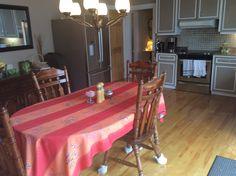 La salle à manger pour les petits déjeuners au Couette & Café À la Québécoise 418-529-2013